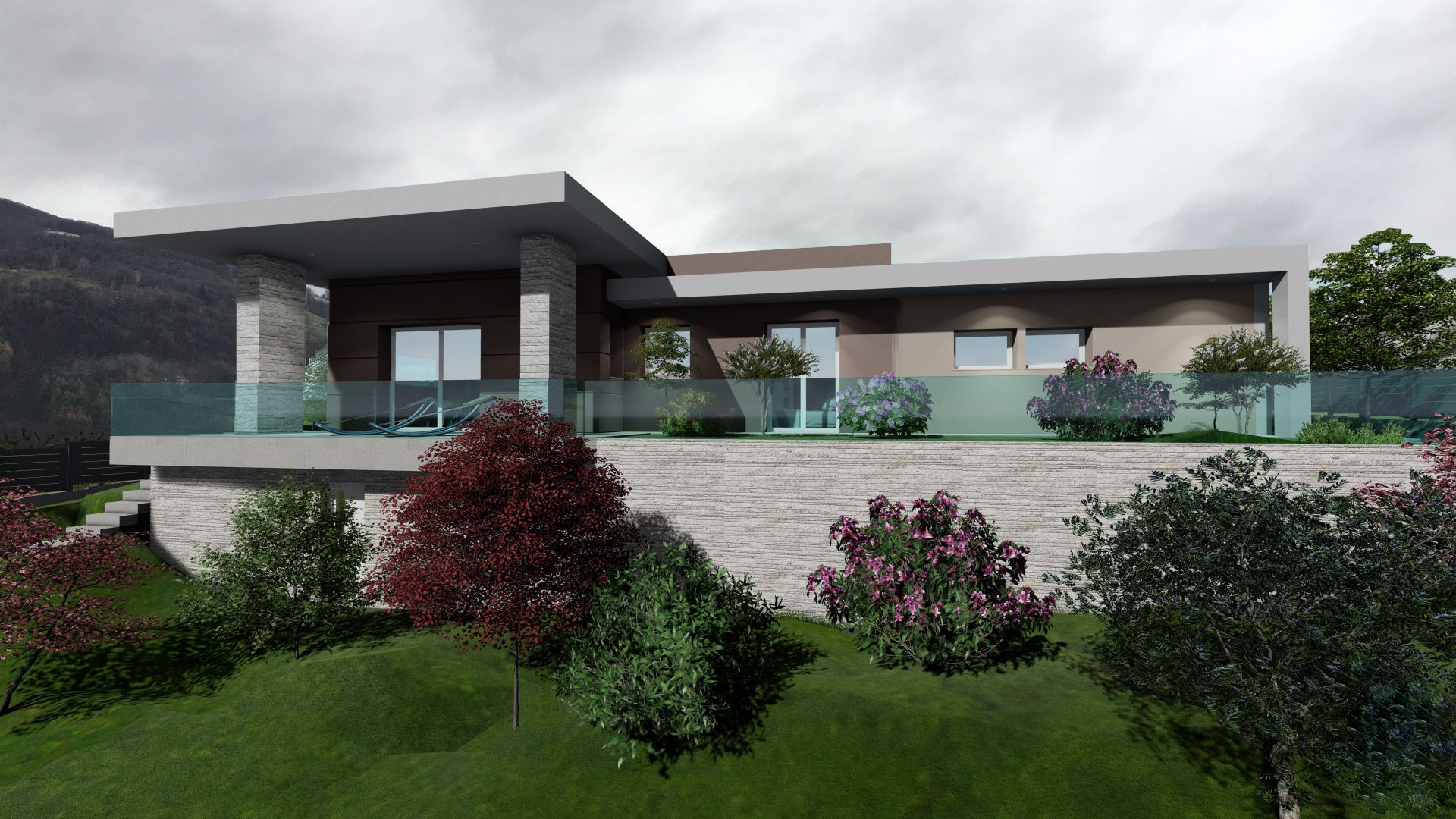 Villa Singola, Mologno (In costruzione)