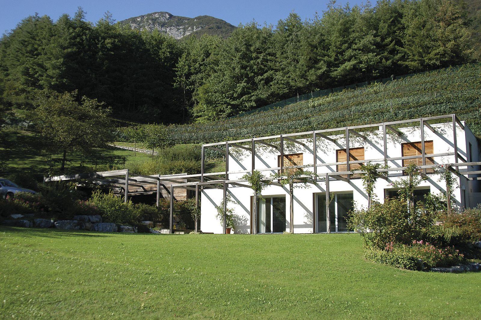 Villa singola, Vigano San Martino